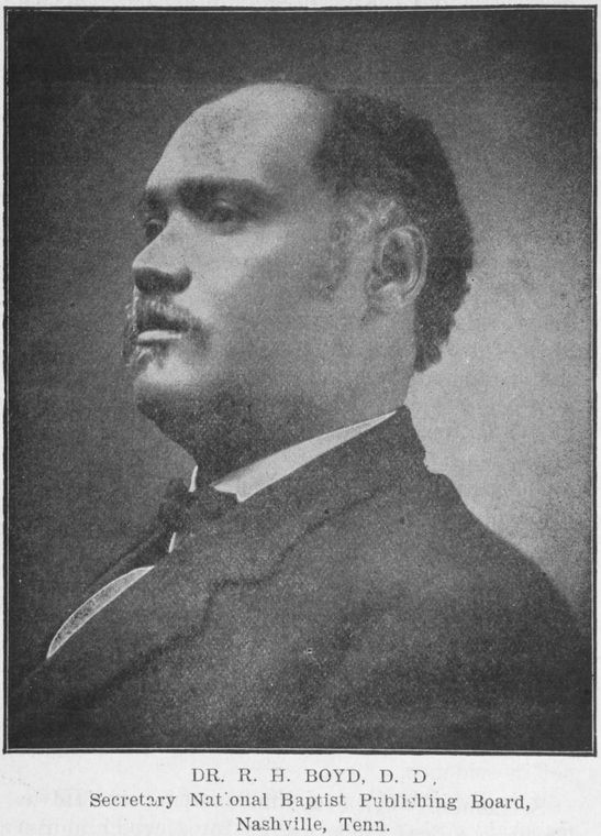 richard henry boyd Richard henry boyd and elias camp morris, two leading members of the nascent national baptist convention, an african american denomination, and boyd's relationship with james marion frost, the corresponding secretary of.